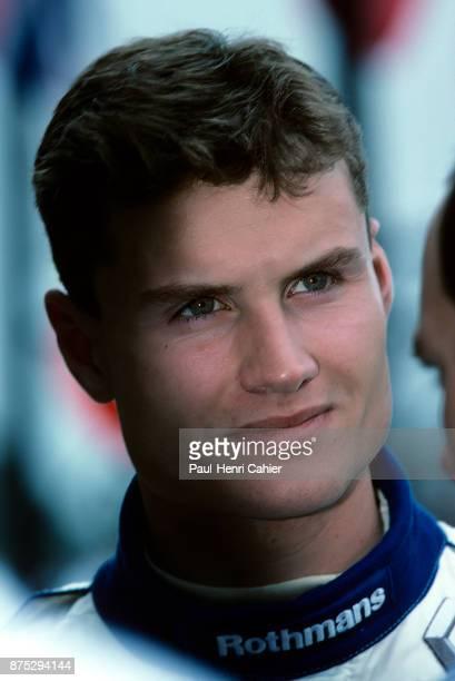 David Coulthard Grand Prix of Argentina Autodromo Juan y Oscar Galvez Buenos Aires 09 April 1995