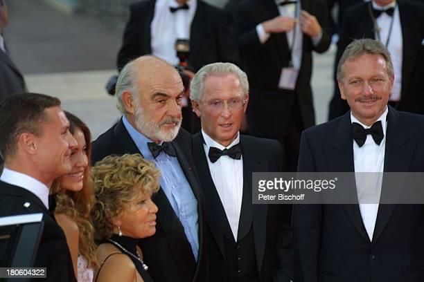 """David Coulthard, Lebensgefährtin Simona Abdelnour, Micheline Connery, Ehemann Sean Connery, Namen auf Wunsch, , ZDF-Special zur Verleihung des """"3..."""