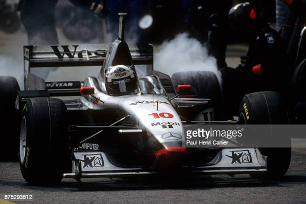 David Coulthard, McLaren-Mercedes MP4/12, Grand Prix of Brazil, Autodromo Jose Carlos Pace, Interlagos, Sao Paolo, 30 March 1997. David Coulthard...