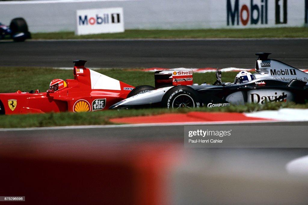 David Coulthard, Grand Prix Of France : News Photo
