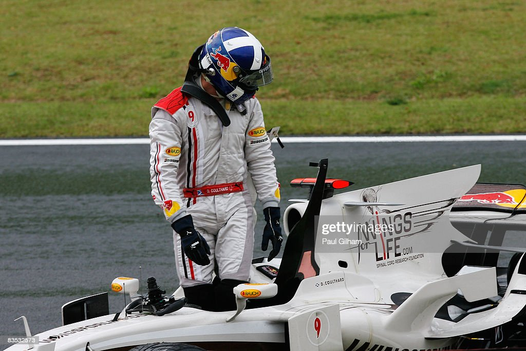 Brazilian Formula One Grand Prix: Race : News Photo