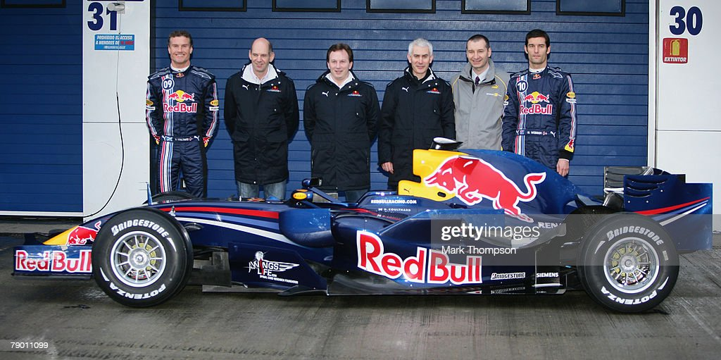 Red Bull F1 Launch : News Photo