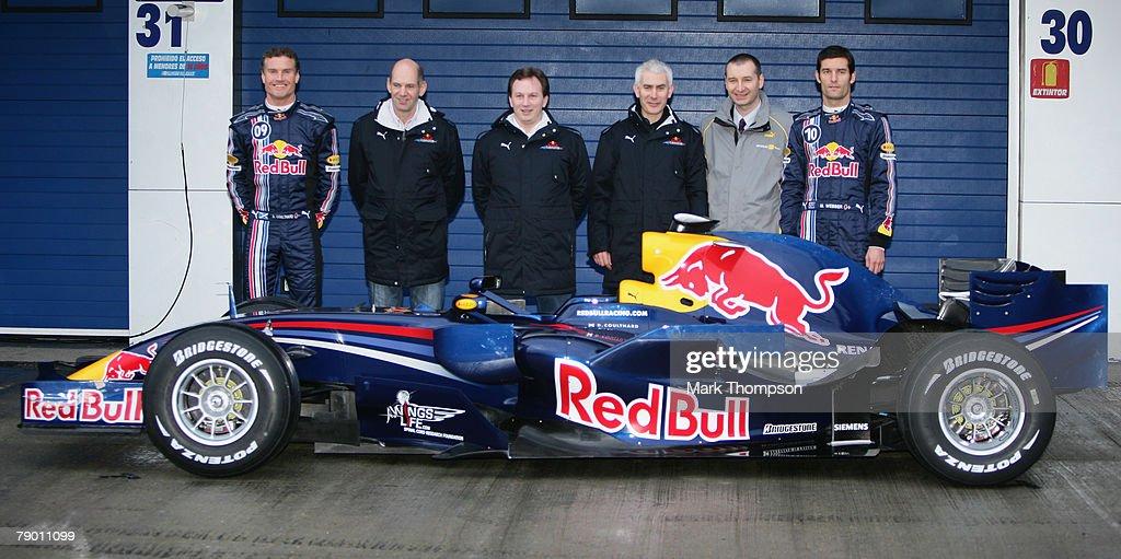 Red Bull F1 Launch : ニュース写真