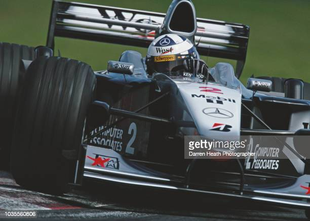 David Coulthard of Great Britain drives the West McLaren Mercedes McLaren MP4/15 Mercedes V10 during the Formula One Canadian Grand Prix on 18 June...