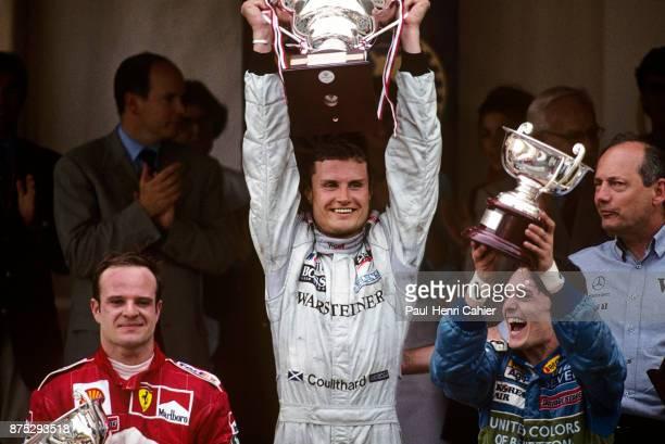 David Coulthard Rubens Barrichello Giancarlo Fisichella Grand Prix of Monaco Circuit de Monaco 04 June 2000