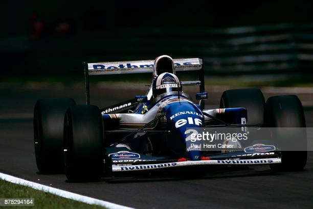 David Coulthard, Williams-Renault FW16B, Grand Prix of Italy, Autodromo Nazionale Monza, 11 September 1994.