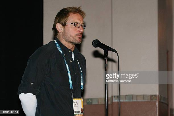 David Courier attends a screening of Quid Pro Quo at the Library Theatre during the 2008 Sundance Film Festival on January 20 2008 in Park City Utah