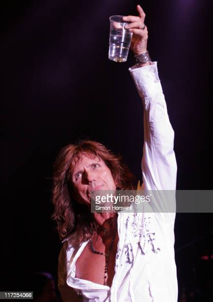 David Coverdale of Whitesnake during Whitesnake In Concert at Hammersmith Carling Apollo London June 1 2006 at Hammersmith Carling Apollo in London...