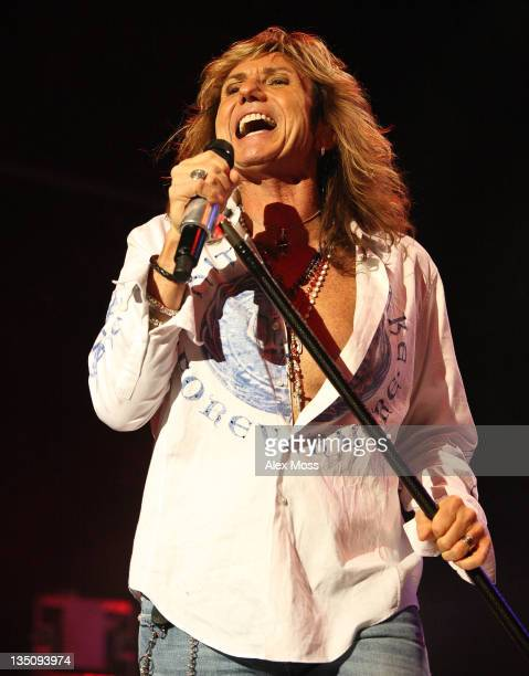 David Coverdale of WhiteSnake Performs at The Forum on December 5 2011 in London England
