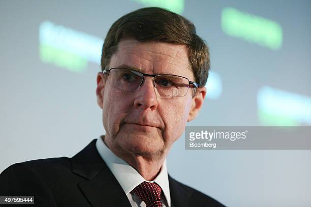 David Craig chief financial officer of Commonwealth Bank of Australia listens during the Bloomberg Summit in Sydney Australia on Wednesday Nov 18...