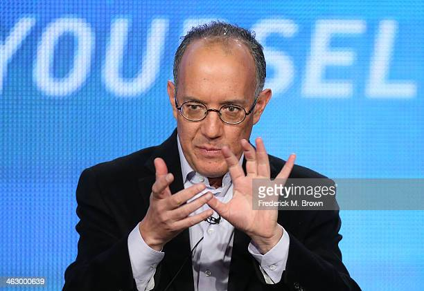 David Crane Executive Producer Writer speaks onstage during the 'Episodes ' panel discussion at the Showtime portion of the 2014 Winter Television...