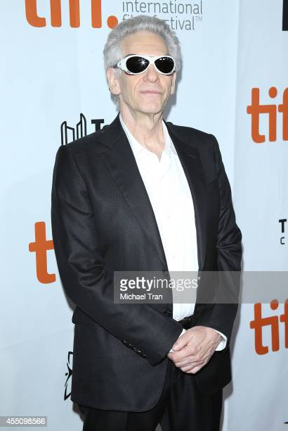 David Cronenberg arrives at the premiere of Maps To The Stars held during the 2014 Toronto International Film Festival - Day 6 held on September 9,...