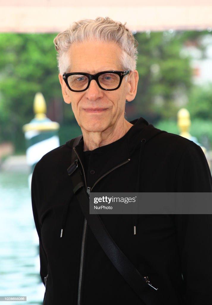 David Cronenberg At The 75th Venice Film Festival : Nieuwsfoto's