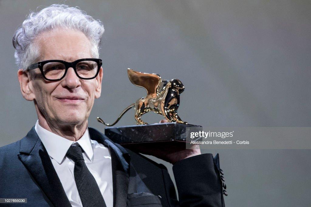 "ITA: ""M Butterfly And Lifetime Achievement Award To David Cronenberg"" Red Carpet Arrivals - 75th Venice Film Festival"