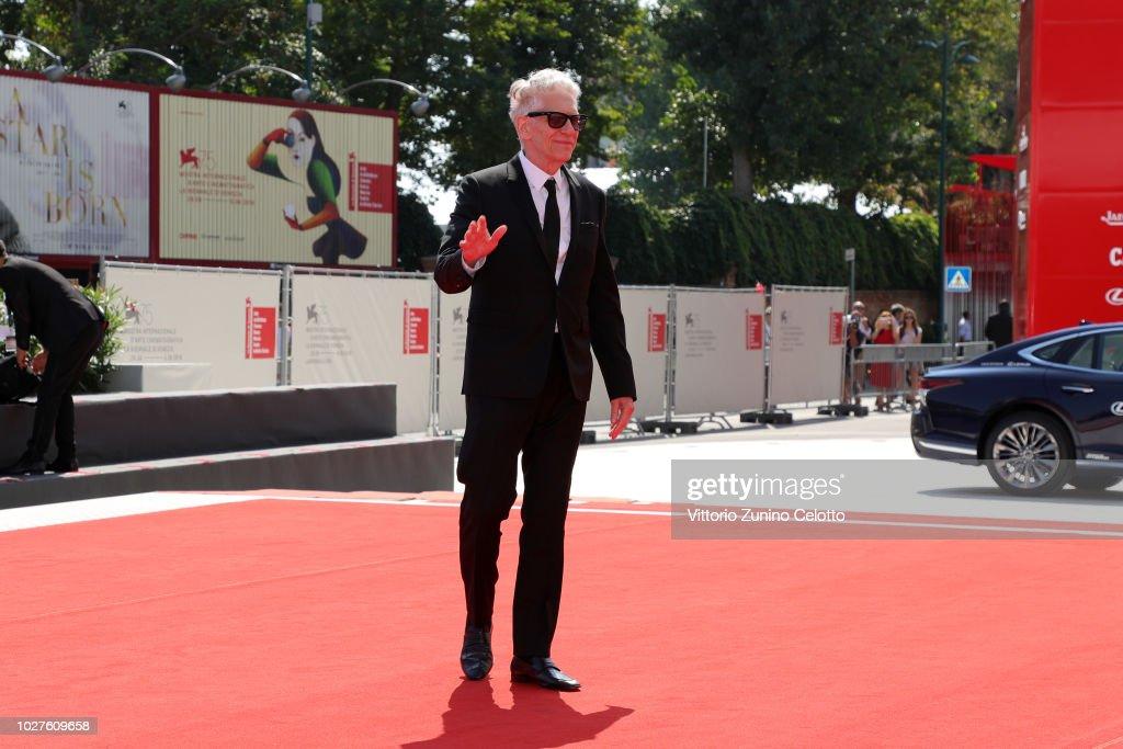 "ITA: ""M Butterfly"" And Lifetime Achievement Award To David Cronenberg Red Carpet Arrivals - 75th Venice Film Festival"