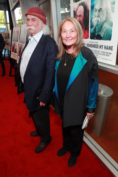 "CA: Premiere Of Sony Pictures Classic's ""David Crosby: Remember My Name"" - Red Carpet"