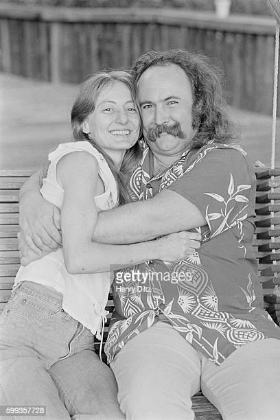 David Crosby and Wife Jan