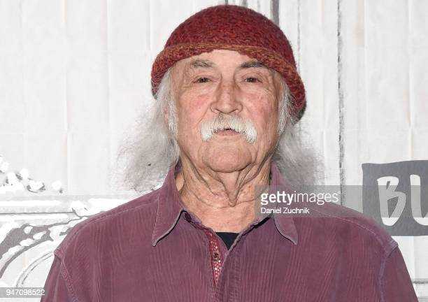 David Crosby attends the Build Series to discuss the film 'Little Pink House' at Build Studio on April 16 2018 in New York City