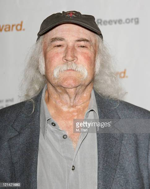 David Crosby during 3rd Annual Los Angeles Gala for the Christopher and Dana Reeve Foundation at Century Plaza Hotel in Century City, California,...