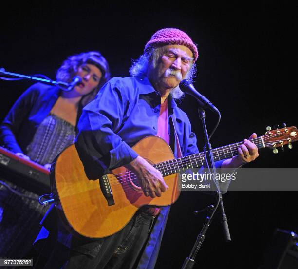 David Crosby performs at Mayo Performing Arts Center on June 17 2018 in Morristown New Jersey