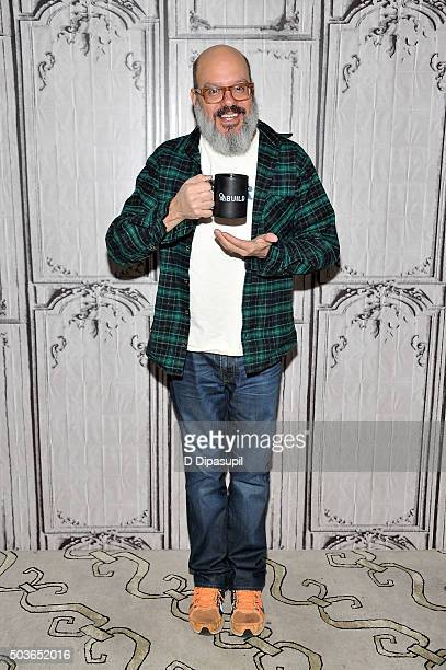 David Cross attends AOL BUILD Series David Cross Todd Margaret at AOL Studios In New York on January 6 2016 in New York City