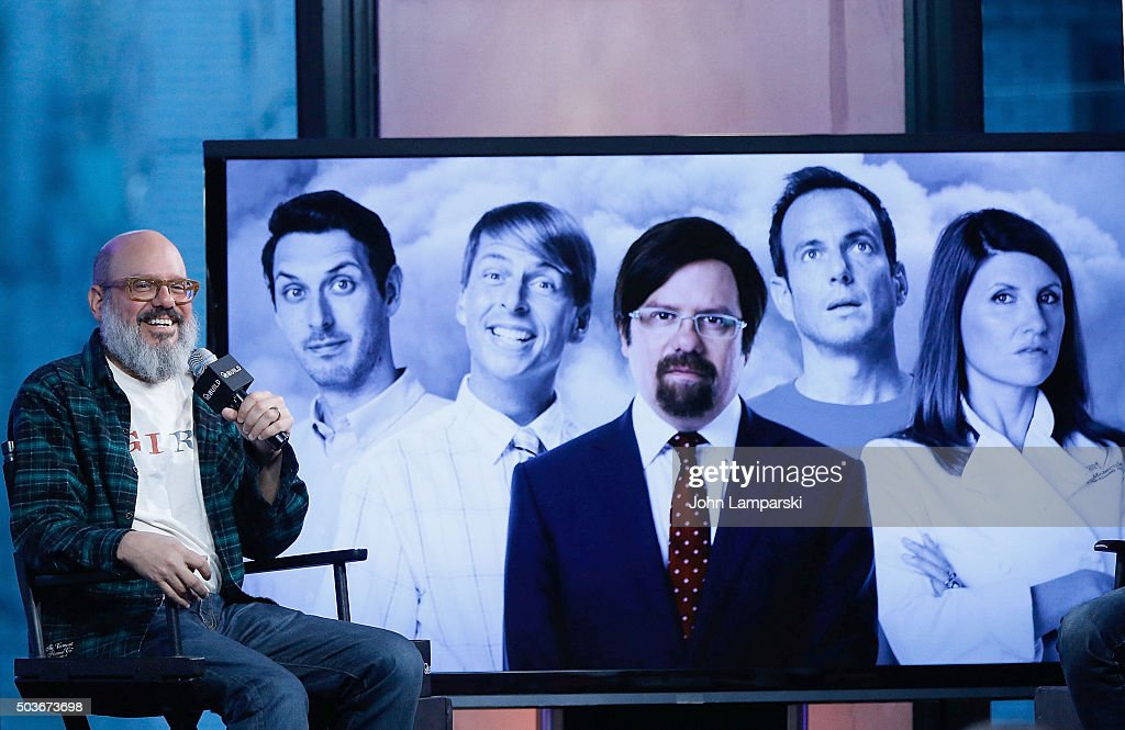 David Cross of 'Todd Margaret' speaks during AOL Build speakerseries at AOL Studios In New York on January 6, 2016 in New York City.