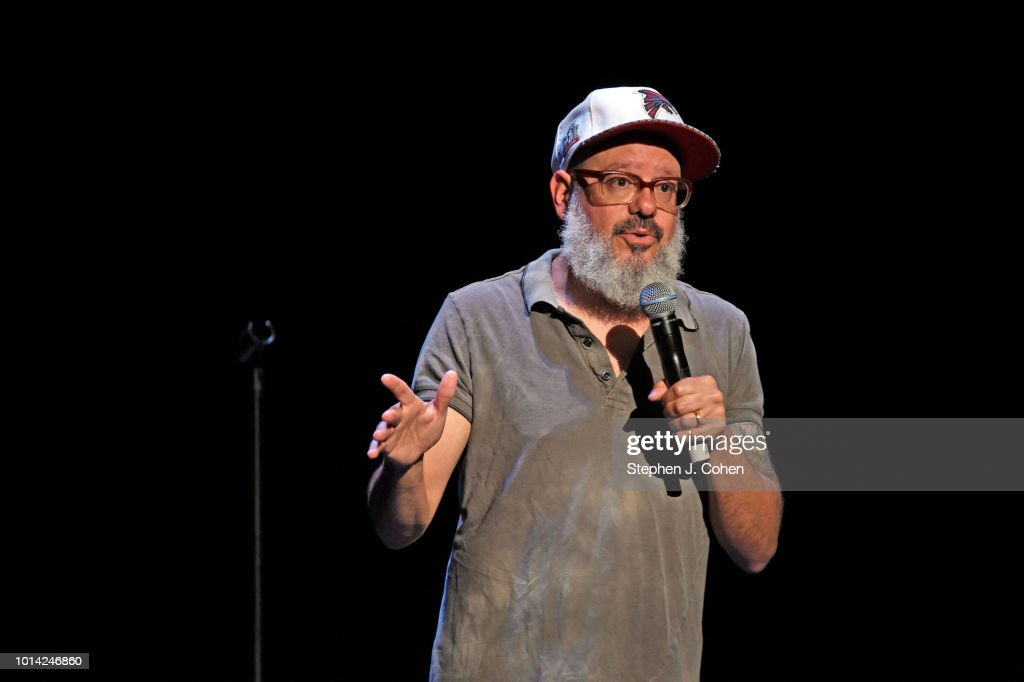 David Cross performs at The Brown Theatre on August 9, 2018 in Louisville, Kentucky.