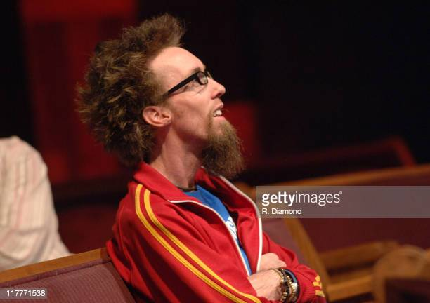 David Crowder during 36th Annual GMA Music Awards Rehearsals at Grand Ole Opry House in Nashville Tennessee United States
