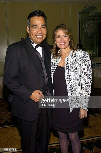 David Cruz and Gloria Torres during 2005 Impact Awards Gala at Bevely Wilshire in Beverly Hills California United States