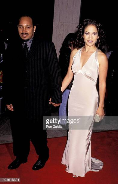 David Cruz and Jennifer Lopez during Money Train Los Angeles Premiere at Cineplex Odeon Century Plaza Cinema in Century City California United States