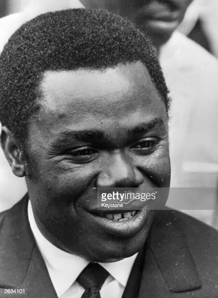 David Dacko President of the Central African Republic who deposed the despotic Emperor Bokassa I