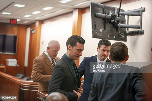 David Daleiden, a defendant in an indictment stemming from a Planned Parenthood video he helped produce, appears in court at the Harris County...