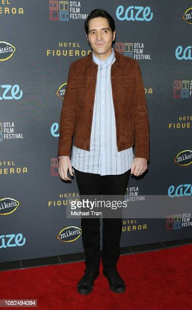 """David Dastmalchian attends the 2018 Downtown Los Angeles Film Festival - """"All Creatures Here Below"""" """"Original Sin"""" And Perception"""" Press line held at..."""