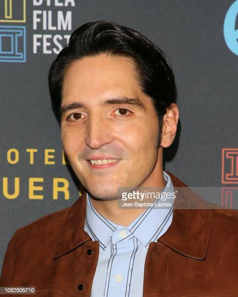 David Dastmalchian attends the 2018 Downtown Los Angeles Film Festival - 'All Creatures Here Below' 'Original Sin' And Perception' Press line held at...