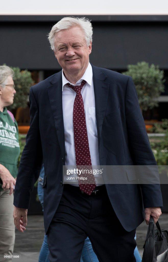 GBR: Brexit Minister David Davis Resigns