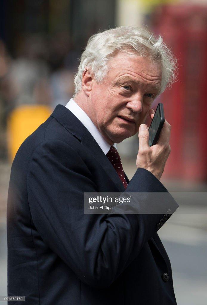 Brexit Minister David Davis Resigns