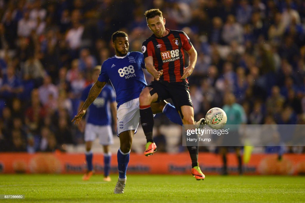 Birmingham City v AFC Bournemouth - Carabao Cup Second Round