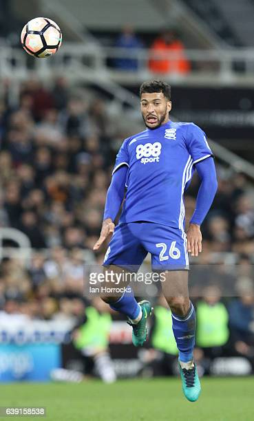 David Davis of Birmingham City during the FA Cup third round replay between Newcastle United and Birmingham City at St James' Park on January 18 2017...