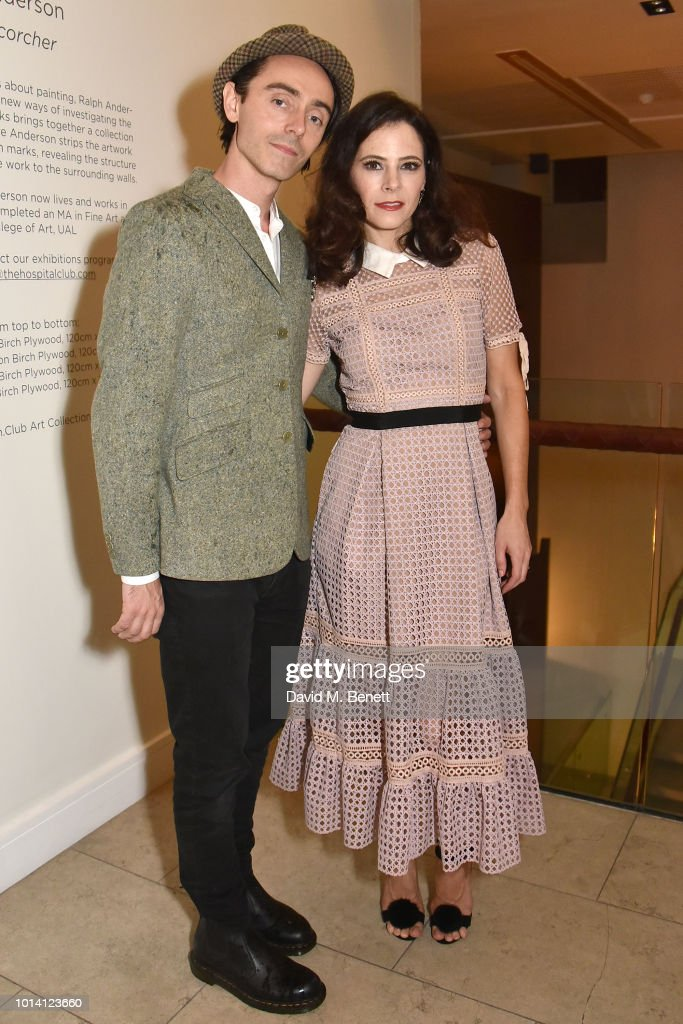 David Dawson (L) and Elaine Cassidy attend the press night after party for 'Aristocrats' at The Hospital Club on August 9, 2018 in London, England.