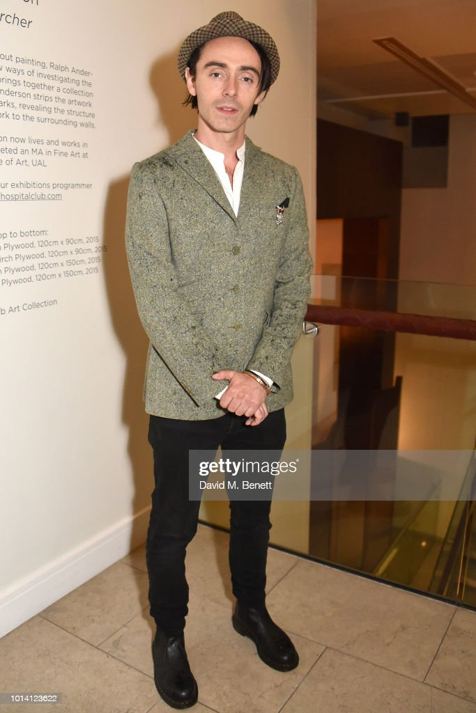 David Dawson attends the press night after party for 'Aristocrats' at The Hospital Club on August 9, 2018 in London, England.