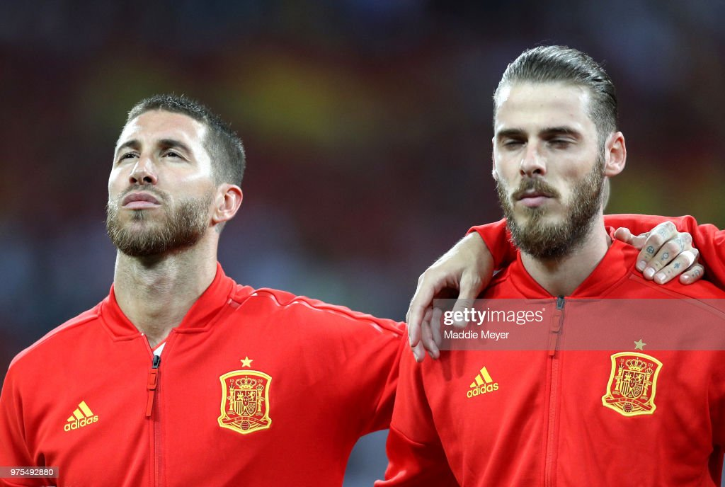 Portugal v Spain: Group B - 2018 FIFA World Cup Russia : Nachrichtenfoto