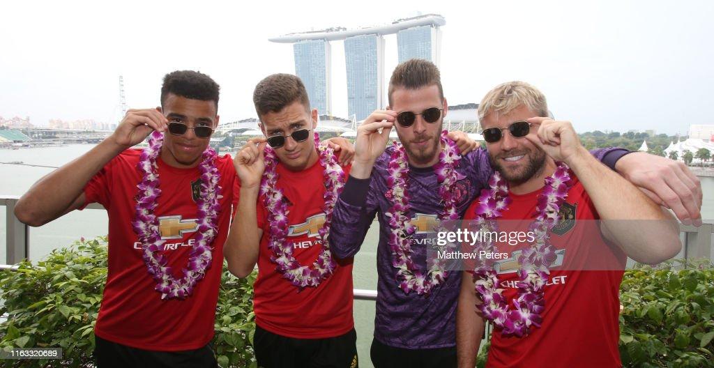 Manchester United Pre-Season Tour - Day 14 : News Photo
