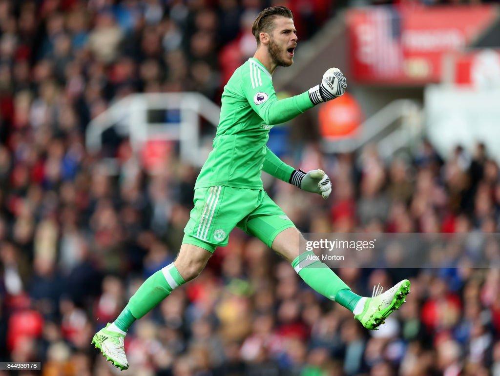 Stoke City v Manchester United - Premier League