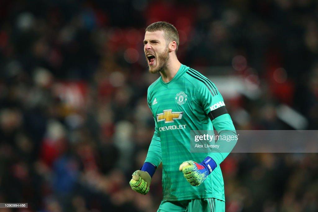 Manchester United v Burnley FC - Premier League : Nachrichtenfoto