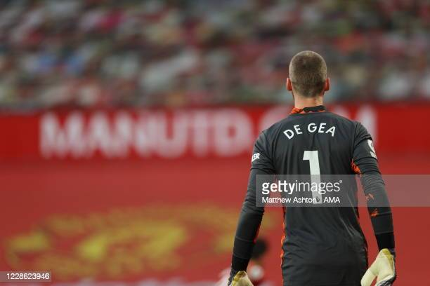 David De Gea of Manchester United during the Premier League match between Manchester United and Crystal Palace at Old Trafford on September 19 2020...