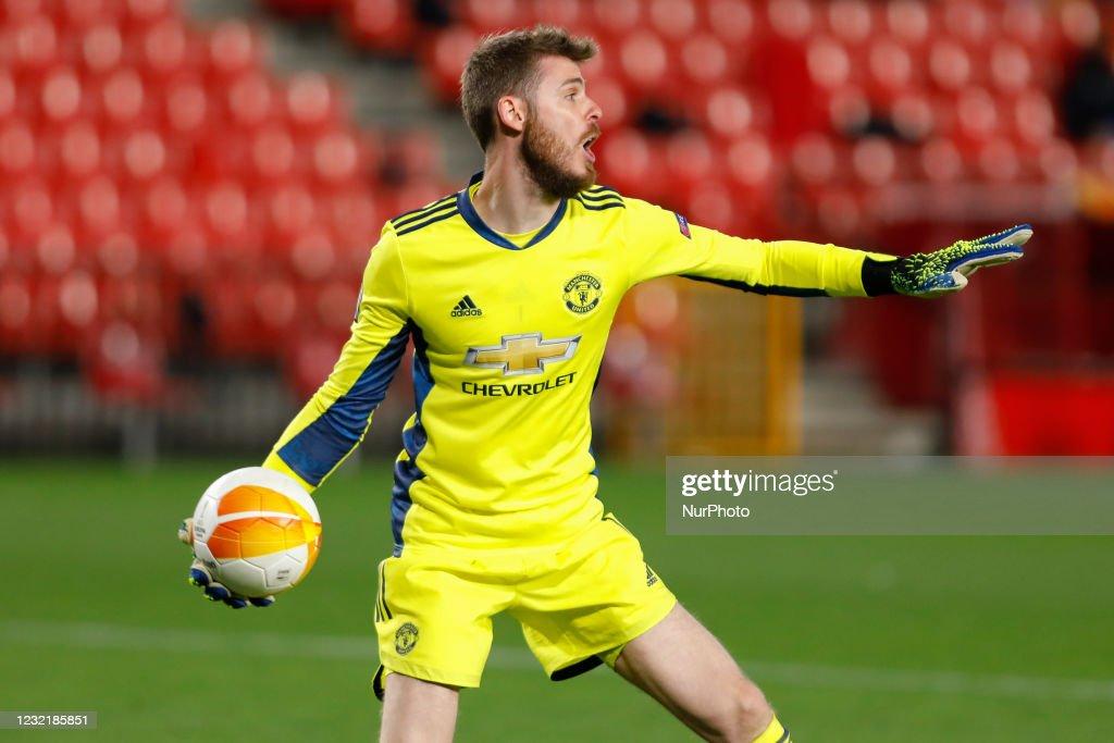 Granada CF v Manchester United - UEFA Europa League Quarter Final: Leg One : News Photo