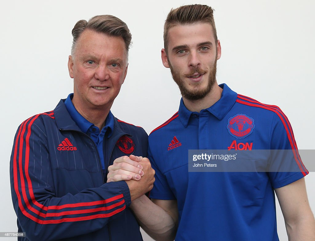 David de Gea Signs New Manchester United Contract : News Photo