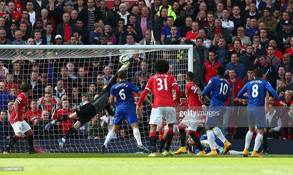 Manchester United v Everton - Premier League : Foto jornalística