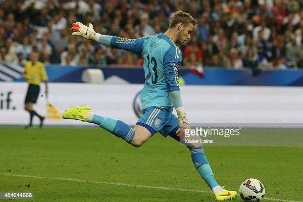 David De Gea of Spain during the International Friendly match between France and Spain at Stade de France on september 04 2014 in Paris France