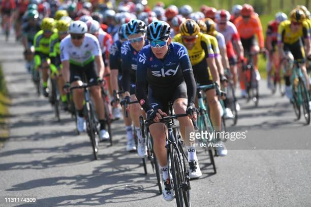 David De La Cruz Melgarejo of Spain and Team Sky / uring the 45th Volta ao Algarve Stage 2 a 1874 km stage from Almodôvar to Alto Da Fóia 900m / VA /...